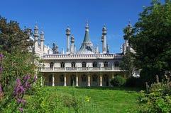 El pabellón real en Brighton Foto de archivo