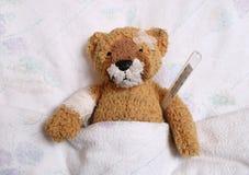 El paciente. Foto de archivo