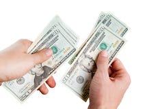 El pagar. cuenta del dinero Imagenes de archivo