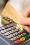 El pagar mercancías Imagen de archivo libre de regalías