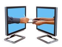 El pagar sus mercancías Imágenes de archivo libres de regalías