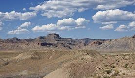 El paisaje áspero de Utah Fotografía de archivo libre de regalías