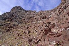 El paisaje alpino rugoso de las Belces marrón y los alces se extienden, Colorado, Rocky Mountains Fotografía de archivo