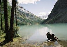 El paisaje de Altay Imagen de archivo libre de regalías