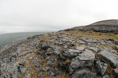 El paisaje de Burren, Co. Clare - Irlanda Fotos de archivo libres de regalías