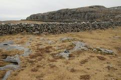 El paisaje de Burren, Co. Clare - Irlanda Imagen de archivo
