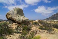 El paisaje de California meridional Foto de archivo