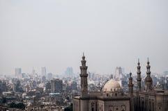 El paisaje de El Cairo Fotografía de archivo