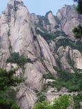 El paisaje de Huangshan en China Imágenes de archivo libres de regalías