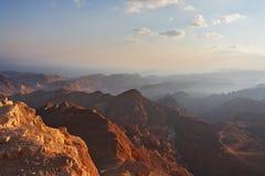 El paisaje de la biblia - Sinaí y Mar Rojo Foto de archivo