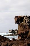 El paisaje de la costa del acantilado Imagenes de archivo