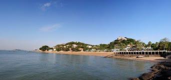 El paisaje de la isla de Gulang Imagen de archivo