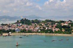 El paisaje de la isla de Gulang Imagenes de archivo
