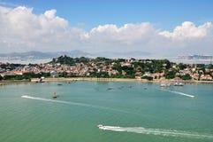 El paisaje de la isla de Gulang Fotos de archivo