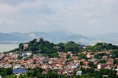 El paisaje de la isla de Gulang Imagen de archivo libre de regalías