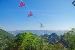 El paisaje de la montaña fotos de archivo