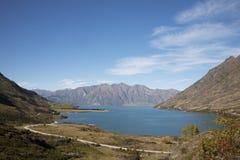 El paisaje de Nueva Zelanda Foto de archivo libre de regalías