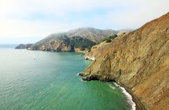 El paisaje de San Francisco Bay Imagen de archivo libre de regalías