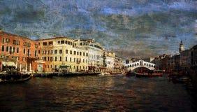 El paisaje de Venecia Fotografía de archivo libre de regalías