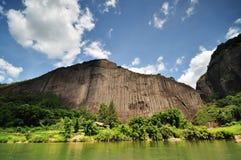 El paisaje de Wuyishan Fotografía de archivo libre de regalías