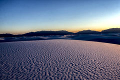 El paisaje del blanco enarena el parque nacional UT, los E.E.U.U. Imagenes de archivo