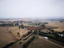 El paisaje del farmanld de Melbourne foto de archivo