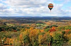 El paisaje del follaje en New Jersey foto de archivo