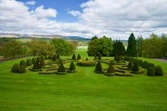 El paisaje del jardín foto de archivo