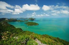 El paisaje del mar Foto de archivo libre de regalías