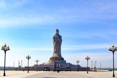 El paisaje del parque cultural de Tianjin Mazu Imagen de archivo libre de regalías