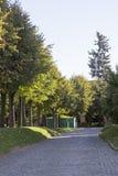 El paisaje en abadía del sergei de Sam, Federación Rusa Foto de archivo libre de regalías