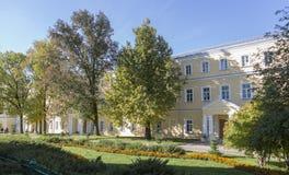 El paisaje en abadía del sergei de Sam, Federación Rusa Imagen de archivo libre de regalías