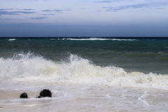 El paisaje en el océano, Cuba fotos de archivo libres de regalías