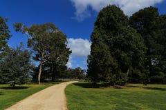 El paisaje en el parque del werribee, Melbourne, Australia Imágenes de archivo libres de regalías
