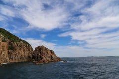 El paisaje en stephens del puerto, Australia Imagen de archivo libre de regalías