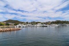 El paisaje en stephens del puerto, Australia Fotos de archivo libres de regalías