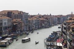 El paisaje en Venecia, Italia Imagen de archivo