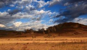 El paisaje espectacular del prado de Inner Mongolia Fotografía de archivo