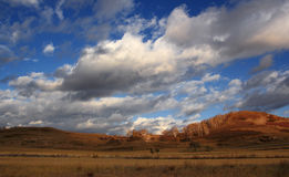 El paisaje espectacular del prado de Inner Mongolia Foto de archivo