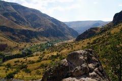 El paisaje georgiano fotografía de archivo libre de regalías