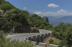El paisaje hermoso de la montaña Fotos de archivo