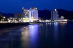 El paisaje hermoso de la playa Foto de archivo libre de regalías