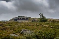 El paisaje hermoso de Noruega en el verano Imagenes de archivo