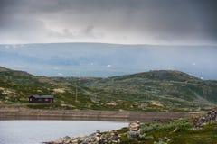El paisaje hermoso de Noruega en el verano Imagen de archivo