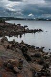El paisaje hermoso de Noruega en el verano Imagen de archivo libre de regalías