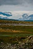 El paisaje hermoso de Noruega en el verano Foto de archivo libre de regalías