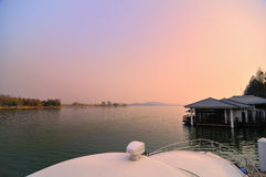 El paisaje hermoso del lago del este Imagen de archivo