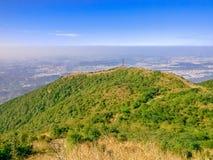El paisaje hermoso del pico del wutong Fotos de archivo