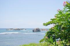 El paisaje hermoso protegido cerca del fuerte de Galle en Sri Lanka fotos de archivo libres de regalías