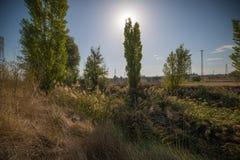 El paisaje I se destaca Fotografía de archivo